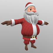 Kerstman 3d model