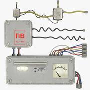 Omkopplare med ledningar V7 3d model