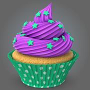 컵케익 v2 3d model