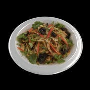 plate of Chinese noodles 3d model