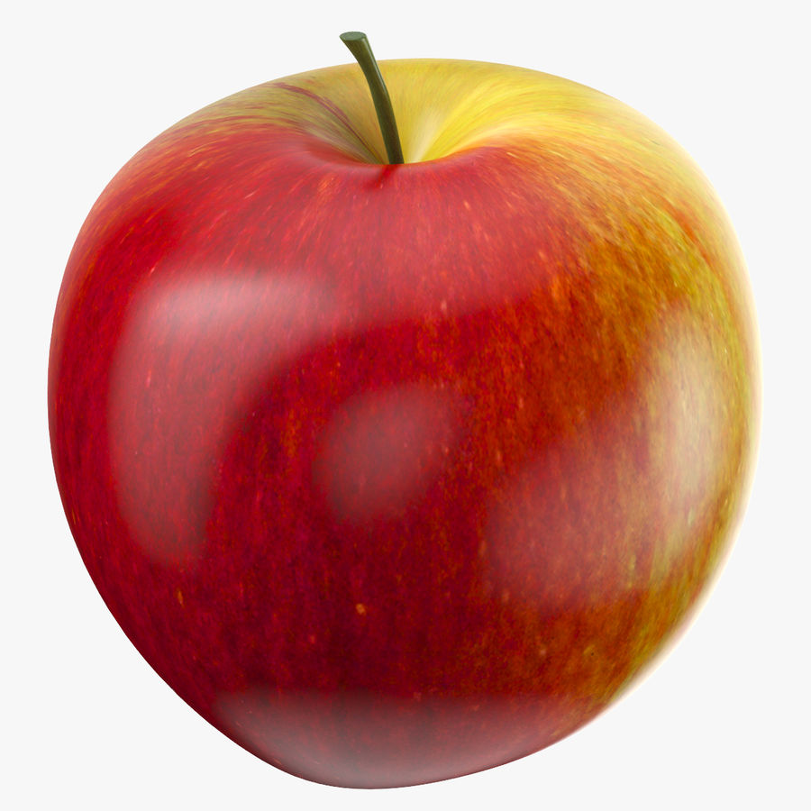 Apple Fruit royalty-free 3d model - Preview no. 1
