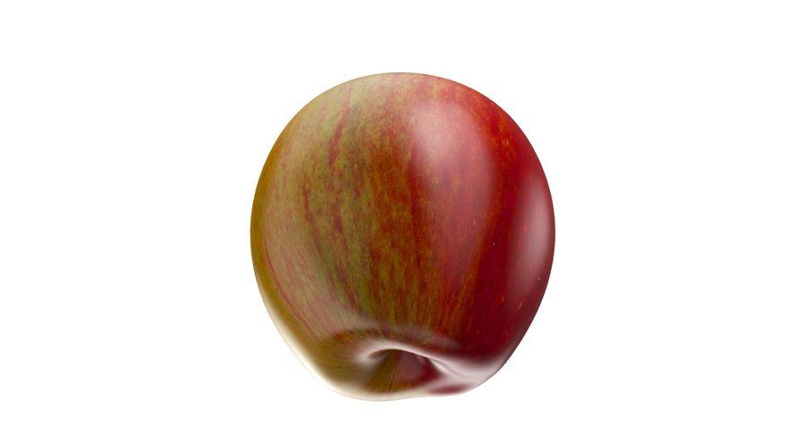 Fruta de manzana royalty-free modelo 3d - Preview no. 8