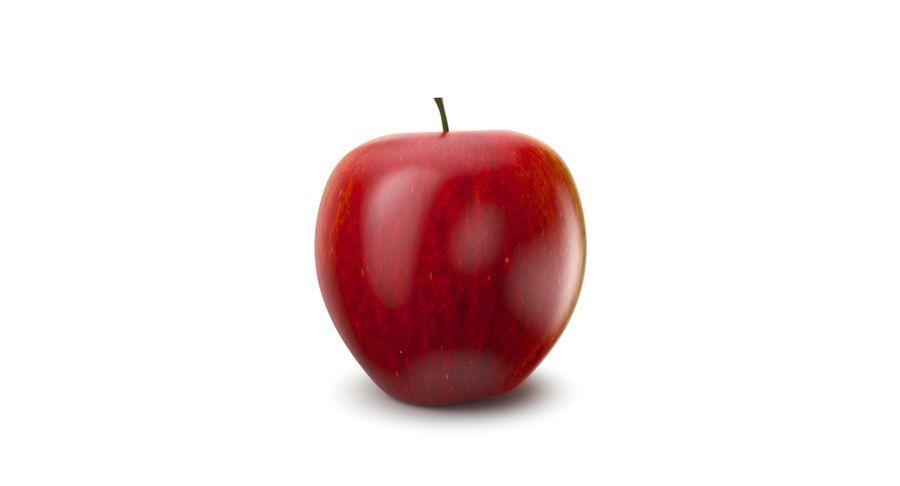 Fruta de manzana royalty-free modelo 3d - Preview no. 7