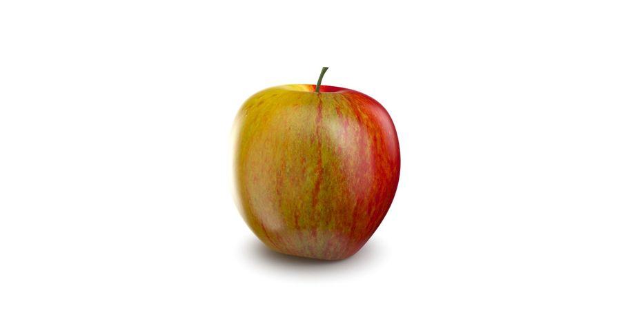 Fruta de manzana royalty-free modelo 3d - Preview no. 6