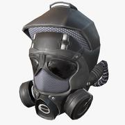 Army Gas Helmet 3d model