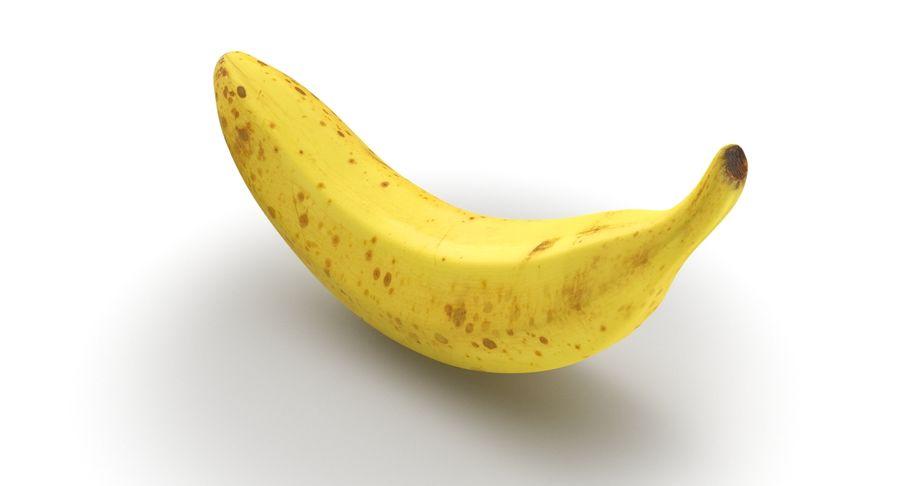 바나나 과일 royalty-free 3d model - Preview no. 4