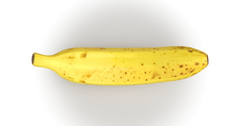 바나나 과일 royalty-free 3d model - Preview no. 5