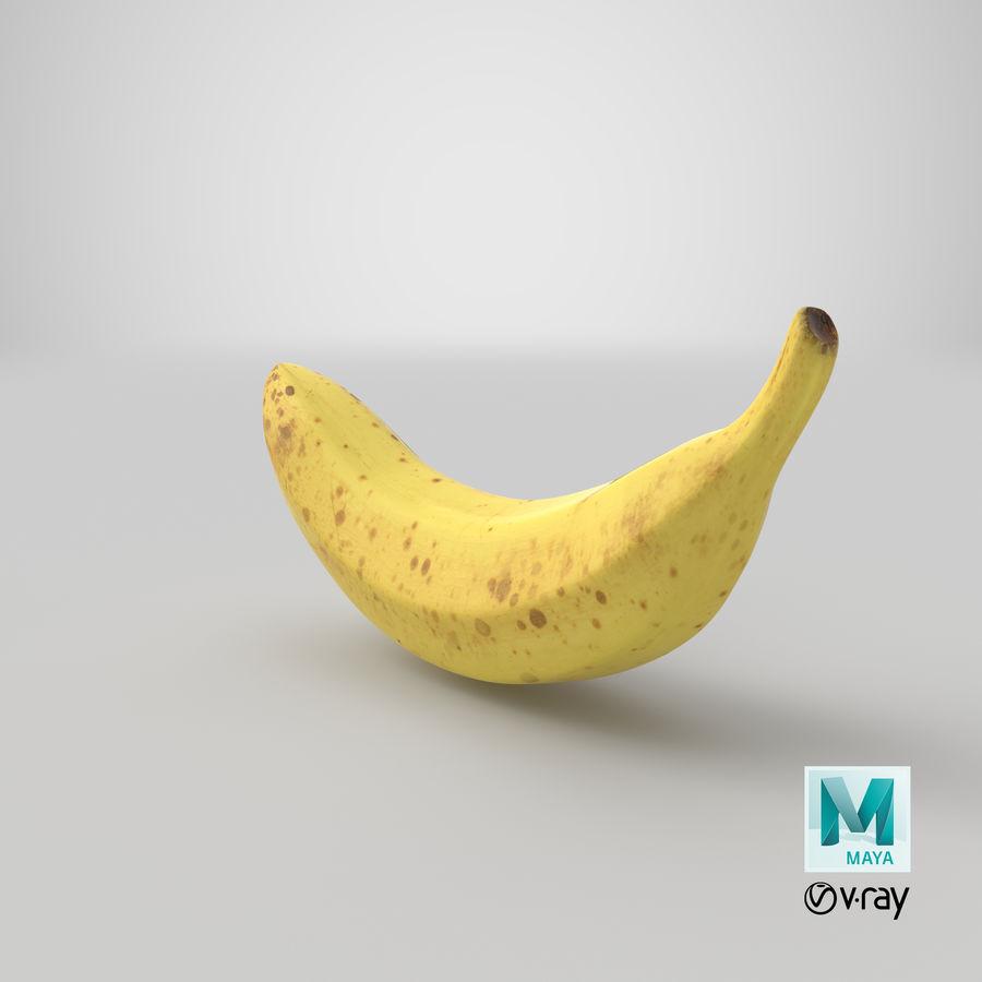 바나나 과일 royalty-free 3d model - Preview no. 14
