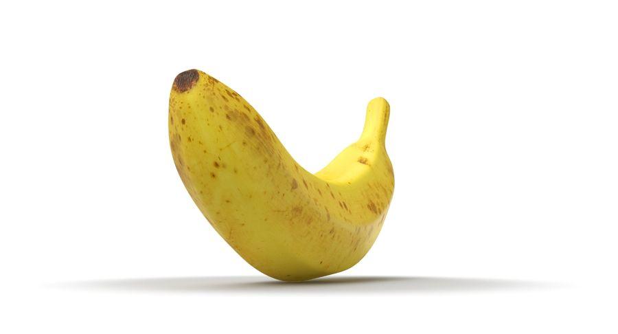 바나나 과일 royalty-free 3d model - Preview no. 6