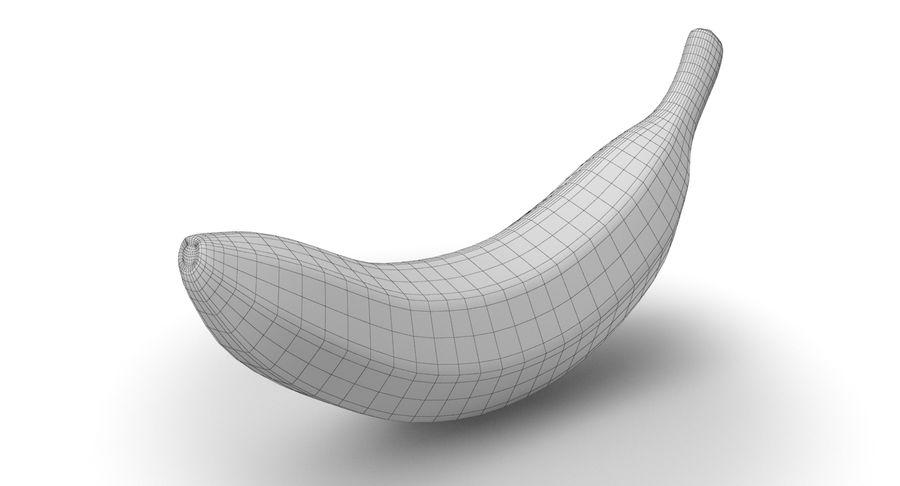 바나나 과일 royalty-free 3d model - Preview no. 9
