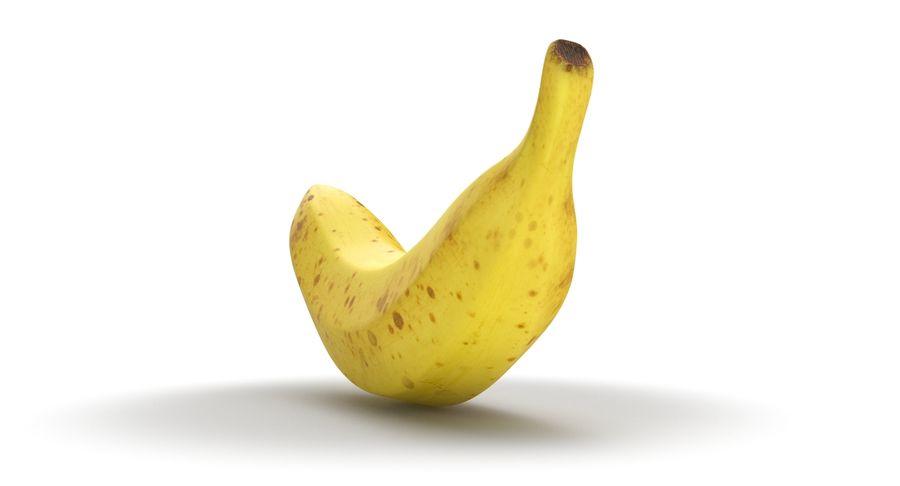 바나나 과일 royalty-free 3d model - Preview no. 7
