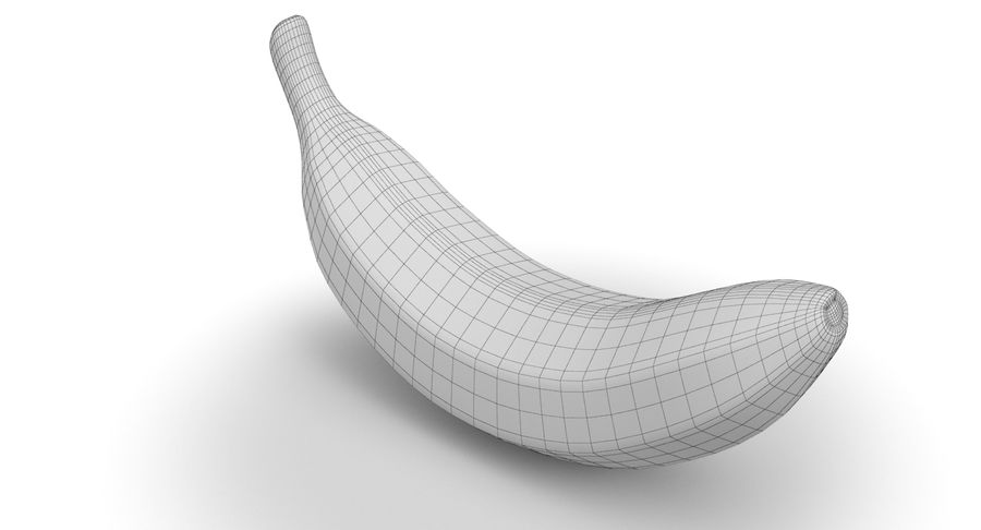 바나나 과일 royalty-free 3d model - Preview no. 11