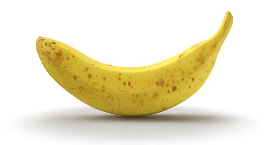 바나나 과일 royalty-free 3d model - Preview no. 3