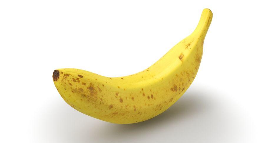 바나나 과일 royalty-free 3d model - Preview no. 2