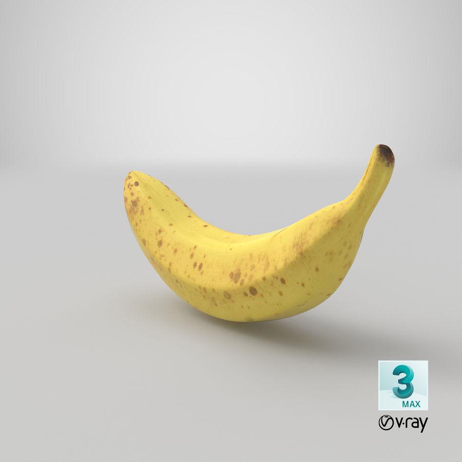 바나나 과일 royalty-free 3d model - Preview no. 16