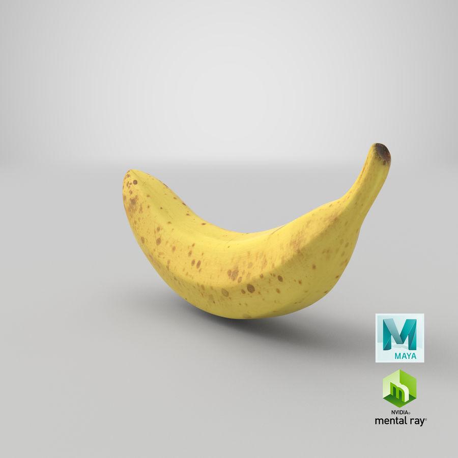 바나나 과일 royalty-free 3d model - Preview no. 15