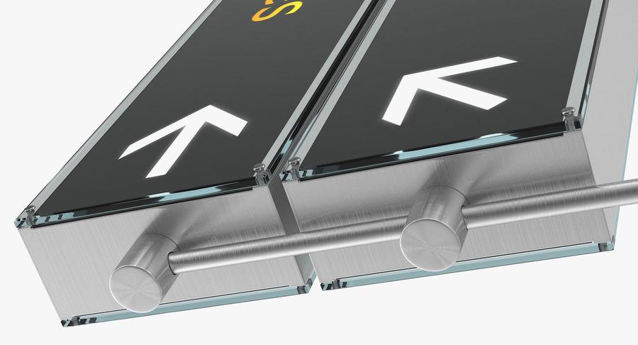 Airport tekenen bagage claim luchtvaartmaatschappijen 3D-model royalty-free 3d model - Preview no. 8