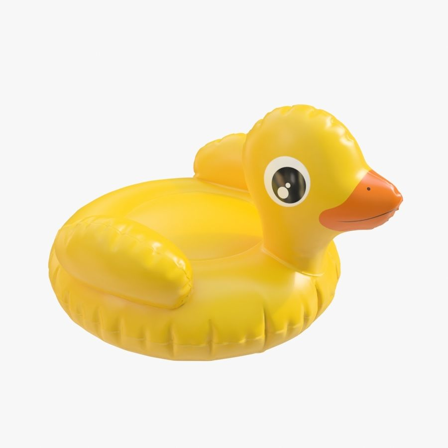 duck 01 royalty-free 3d model - Preview no. 1