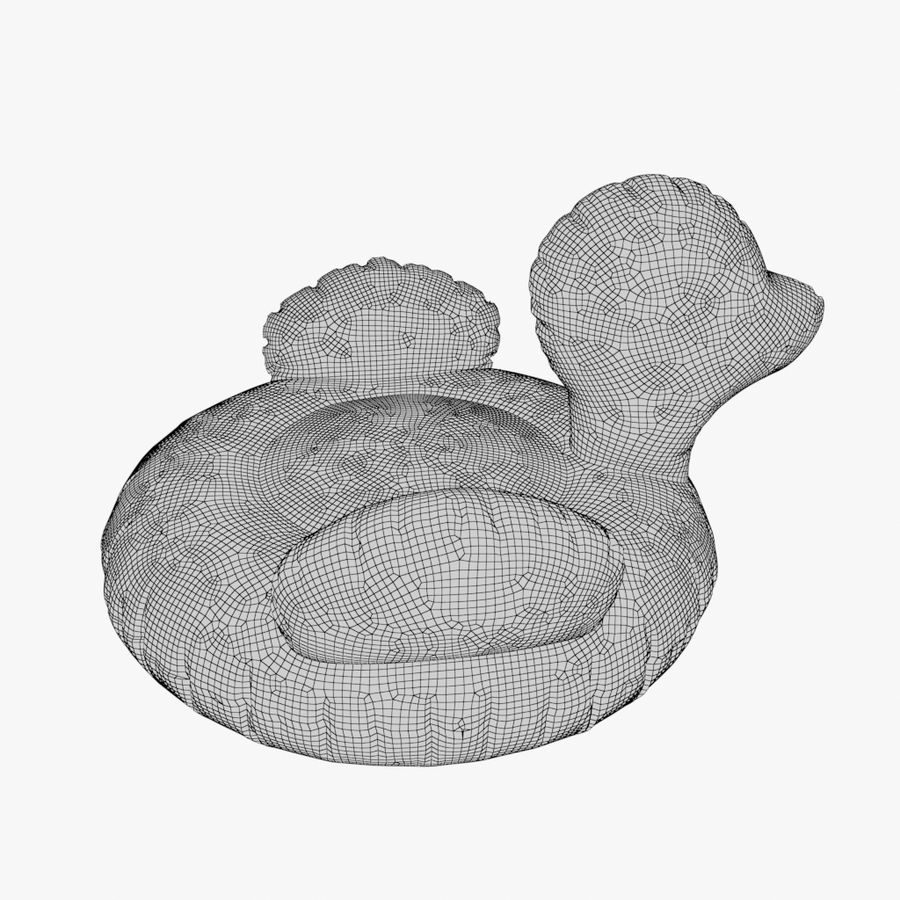 duck 01 royalty-free 3d model - Preview no. 8
