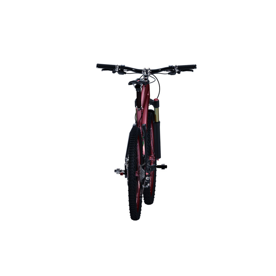 マウンテンバイク royalty-free 3d model - Preview no. 10