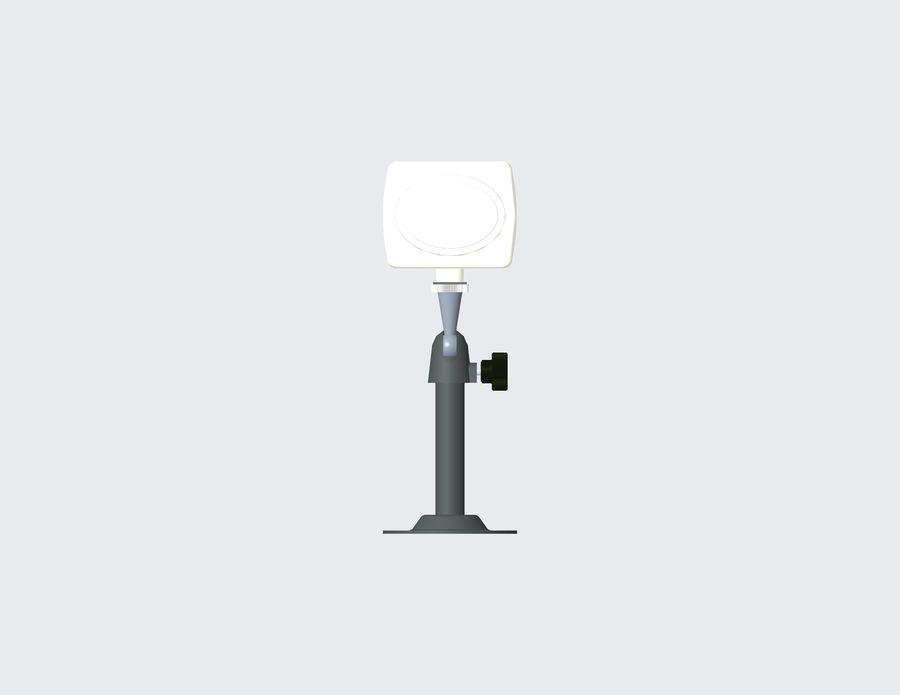 Kamera bezpieczeństwa royalty-free 3d model - Preview no. 3