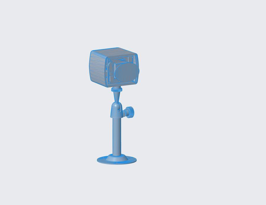 Kamera bezpieczeństwa royalty-free 3d model - Preview no. 5