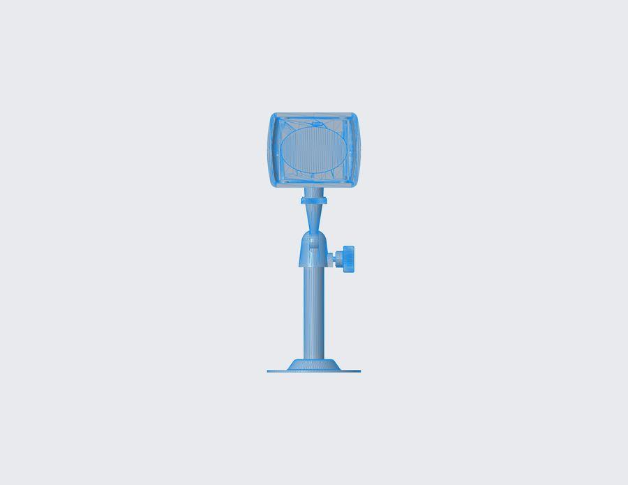 Kamera bezpieczeństwa royalty-free 3d model - Preview no. 4