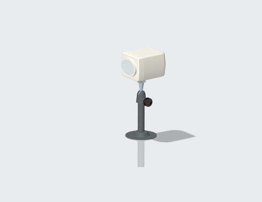 Kamera bezpieczeństwa royalty-free 3d model - Preview no. 6