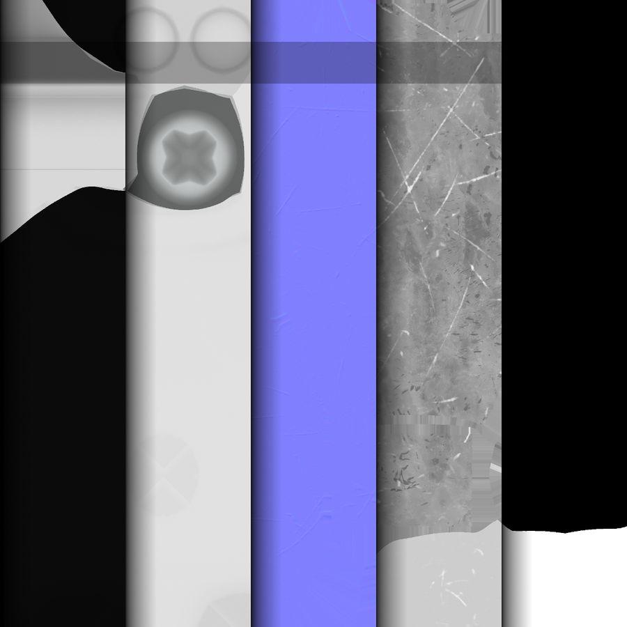 Штекер питания 5 royalty-free 3d model - Preview no. 9