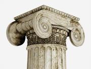 Colonne grecque Erechtheum 3d model