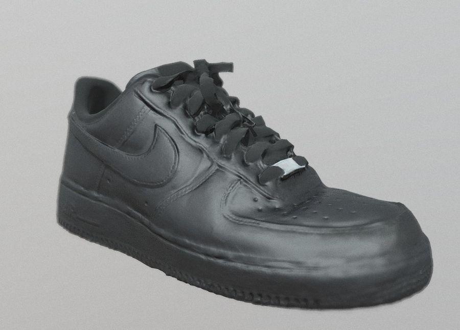 Nike AF1 royalty-free 3d model - Preview no. 1