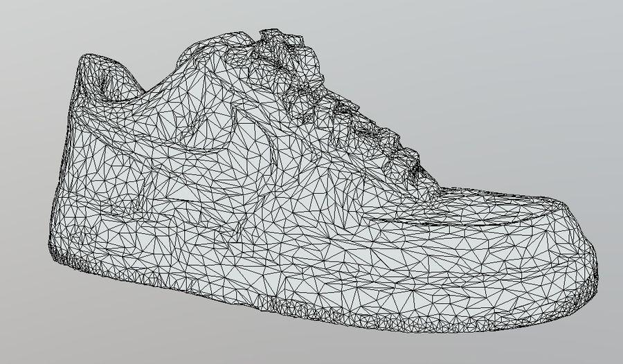 Nike AF1 royalty-free 3d model - Preview no. 6