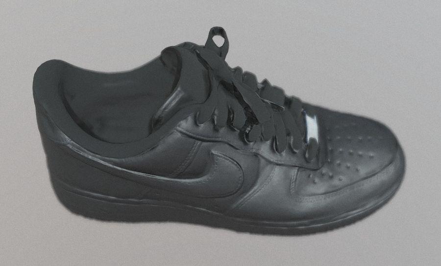 Nike AF1 royalty-free 3d model - Preview no. 3
