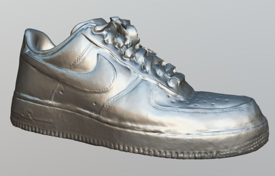 Nike AF1 royalty-free 3d model - Preview no. 5