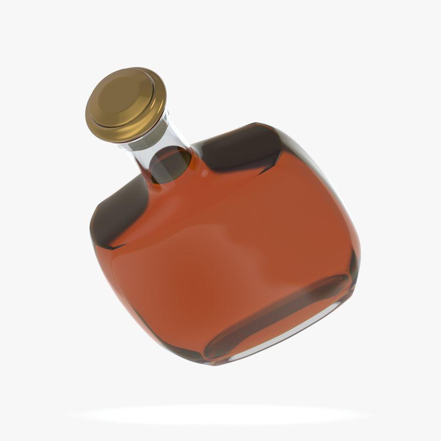 アルコールガラス瓶(5) royalty-free 3d model - Preview no. 6