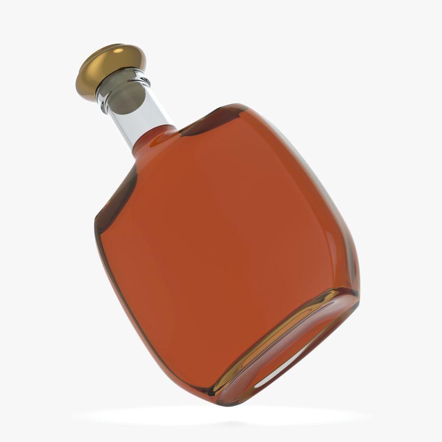 アルコールガラス瓶(5) royalty-free 3d model - Preview no. 5