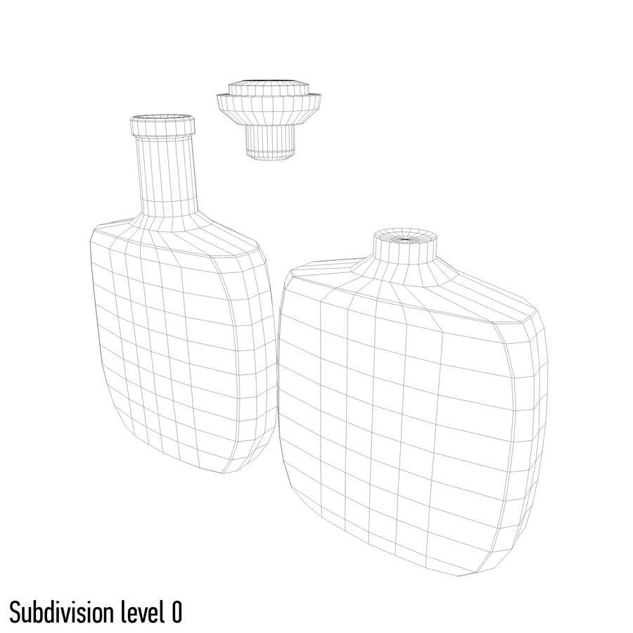 アルコールガラス瓶(5) royalty-free 3d model - Preview no. 7