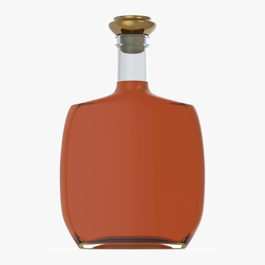 アルコールガラス瓶(5) royalty-free 3d model - Preview no. 2