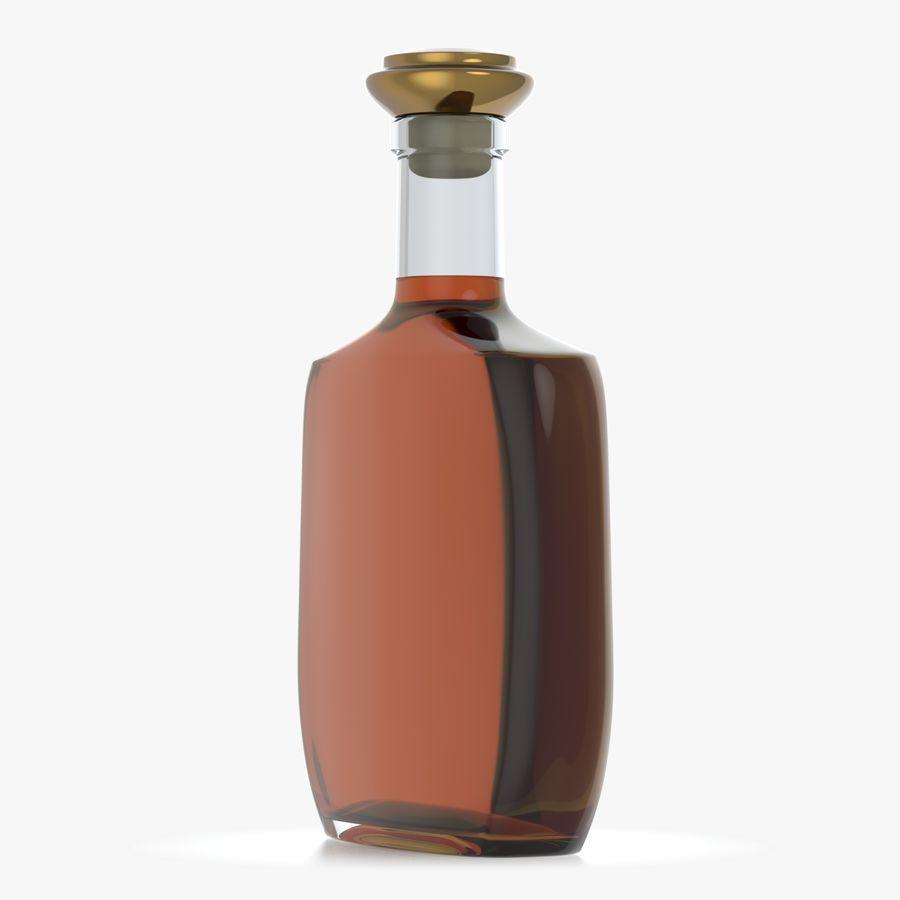 アルコールガラス瓶(5) royalty-free 3d model - Preview no. 4