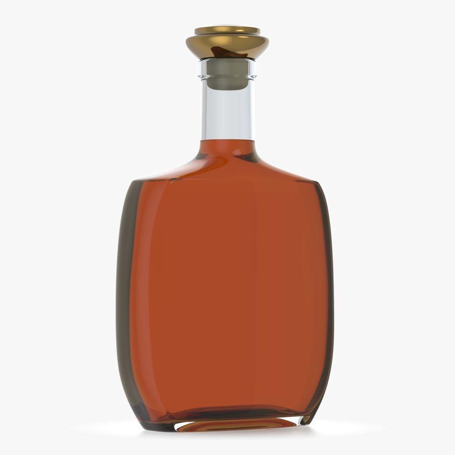 アルコールガラス瓶(5) royalty-free 3d model - Preview no. 3