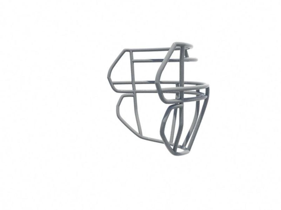 Máscara facial de futebol royalty-free 3d model - Preview no. 4