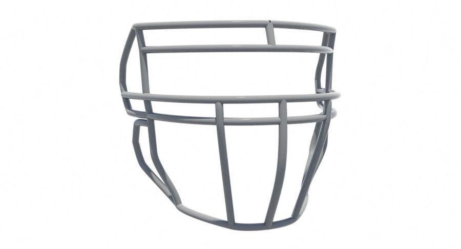 Máscara facial de futebol royalty-free 3d model - Preview no. 6