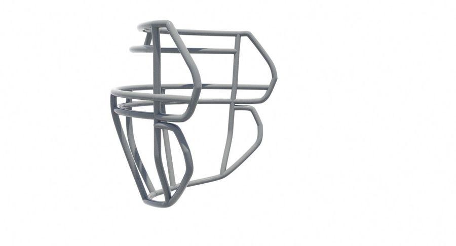Máscara facial de futebol royalty-free 3d model - Preview no. 5