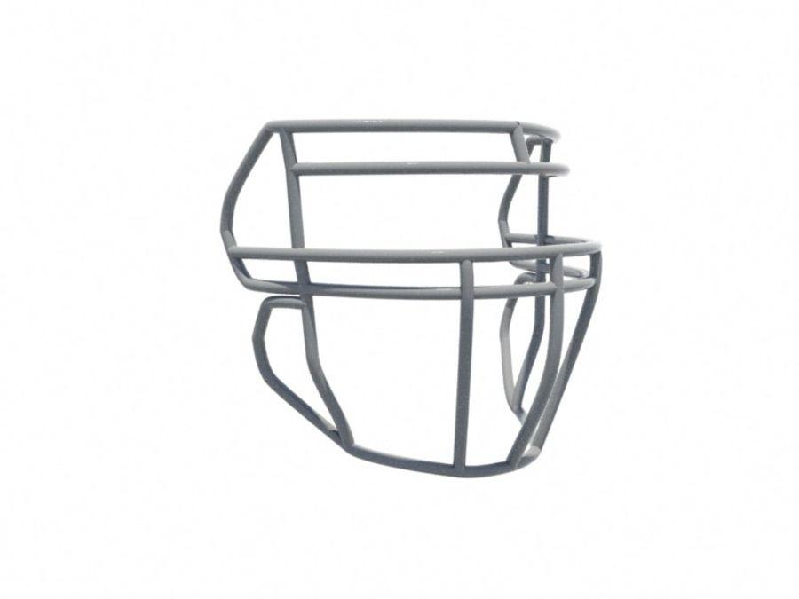 Máscara facial de futebol royalty-free 3d model - Preview no. 1