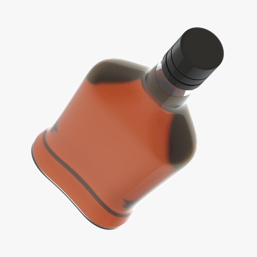 アルコールボトル(5) royalty-free 3d model - Preview no. 6
