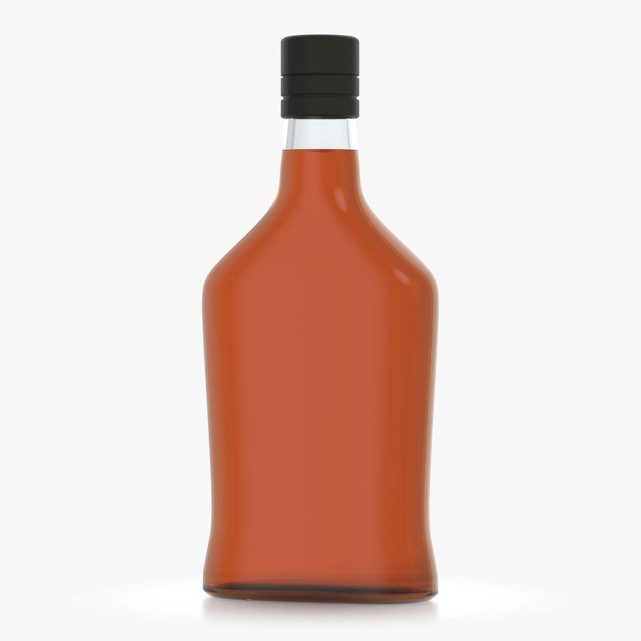 アルコールボトル(5) royalty-free 3d model - Preview no. 4