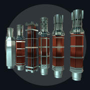 Nuclear Reactor Collection 3d model