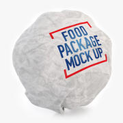 Big Burger Verpackung 3d model