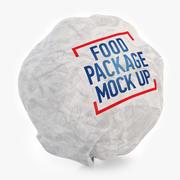 Big Burger packing 3d model