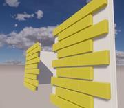 Revit系列墙面 3d model